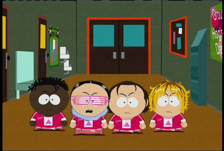 Latin south park metrosexual